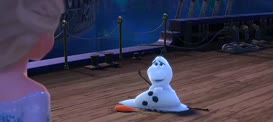Oh, Olaf! Hang on, little guy.