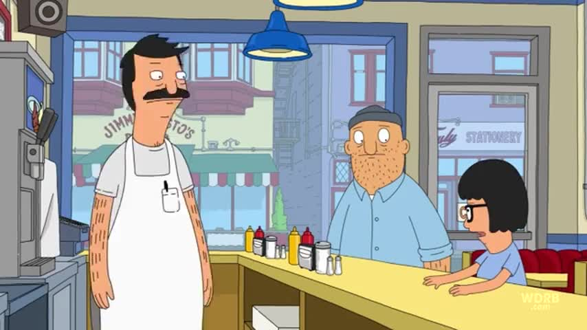 - Whoa. - Tina!