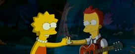 Lisa's got a boyfriend that she'll never see again!
