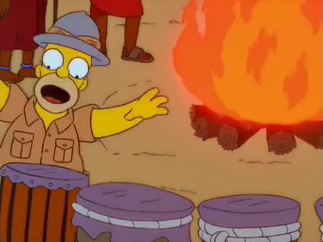 Homer, no!