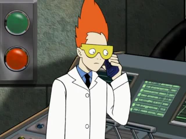 Hang on. Dr. Weird?