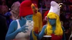 Whoa, Drinky Smurf.