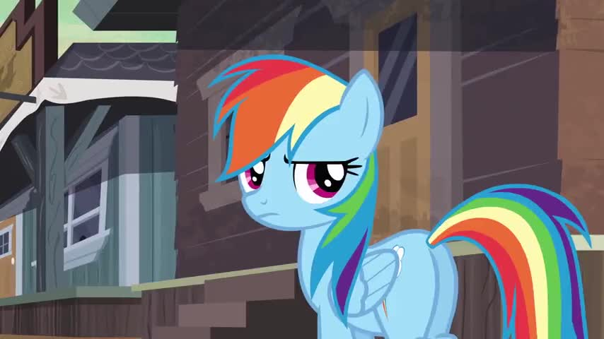 There is nothin' to tell and I am not going back to Ponyville!
