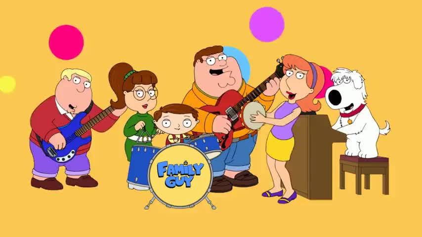 ♪ This is Family Guy. ♪
