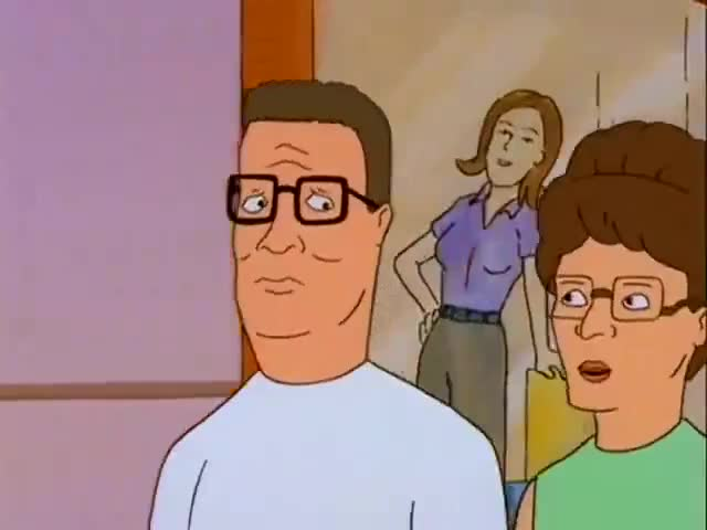 """""""Don't worry, Peggy. I'll use it every day. It's cheaper than going to the gym."""""""