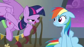 Why don't you think of the Wonderbolts like us?