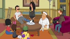 RANDY: Can I borrow some pajamas, Bob? Maybe an oversized tee?