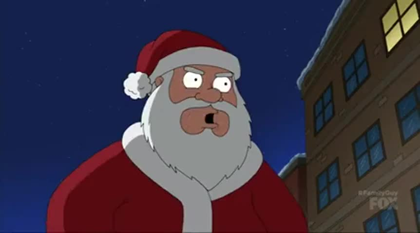 Or else I will put you at the top of my naughty list.