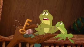 """Quiz for What line is next for """"The Princess and the Frog """"?"""
