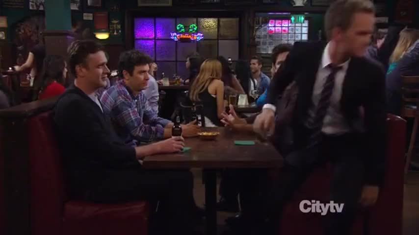 Clip image for '[ Ted Narrating ] But a funny thigh happened that night