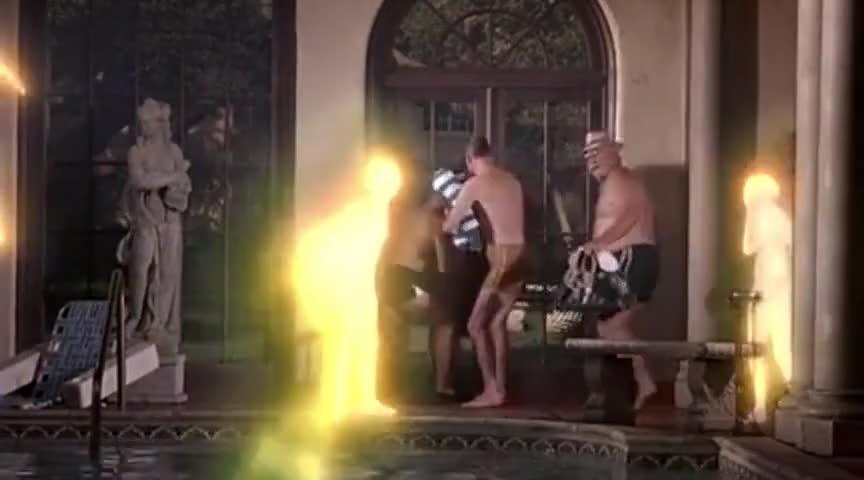 BEN: Come on. Open the fucking door!