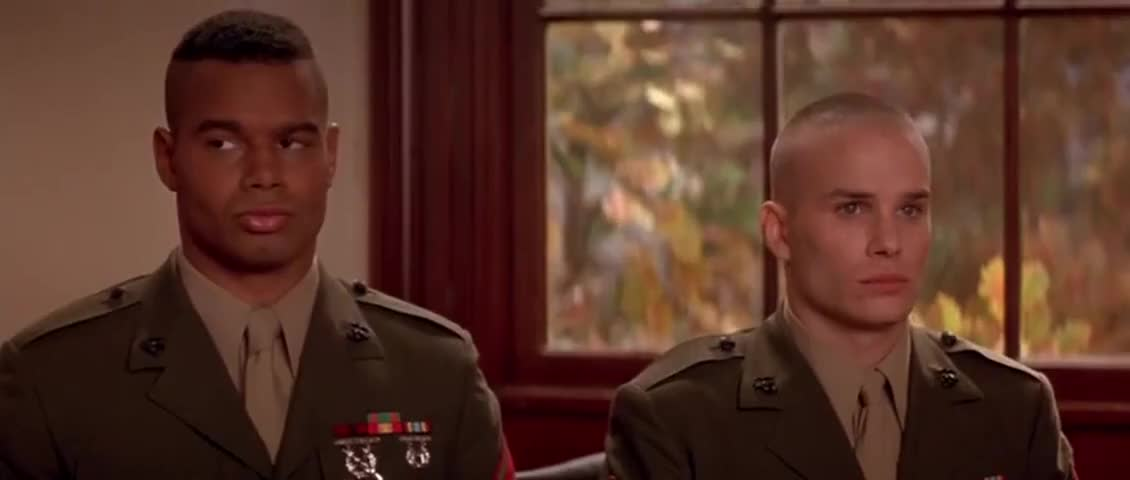 a few good men clip analysis A few good men the play about a few good men synopsis synopsis the film covers the court-martial of two us marines, lance.