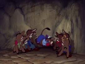 Please, please! I don't wanna be a donkey.