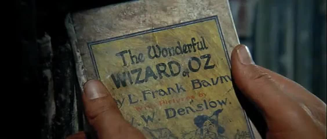 """Clip image for '- So that was it. - """"The Wizard of Oz""""."""