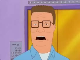 [Hank screaming]