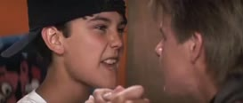- I think your breath stinks. - Go!