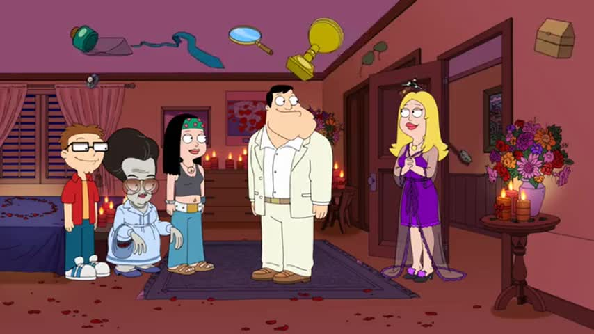 American Dad is filmed in front of a live studio audience.