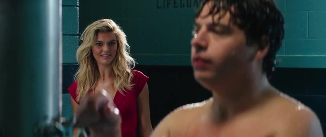 Clip image for 'Here? Oh, um, it's a coed shower.