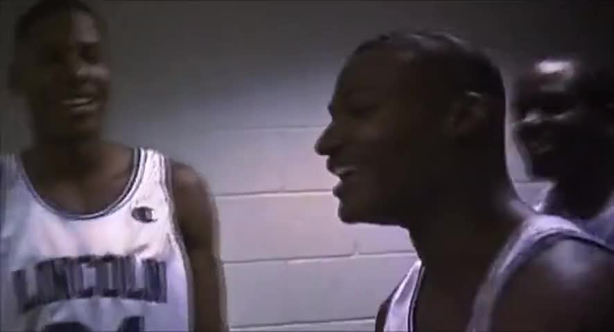 Clip image for '-Sip, Booger, Lonnie, Mance. -Lincoln! Linc--Linc--Lincoln!