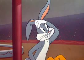 """Quiz for What line is next for """"Looney Tunes Golden Collection: Volume 1 - S01E10 Big Top Bunny""""?"""