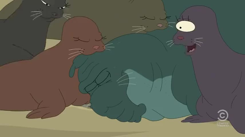I like mating with beachmaster 'cause he's the largest.
