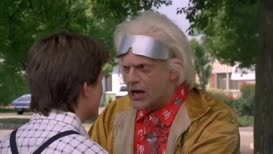 It's your kids, Marty. Something's got to be done about them.
