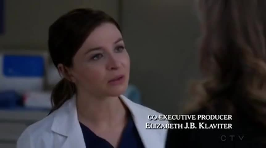 Yarn Was The One Who Caused The Accident Greys Anatomy 2005
