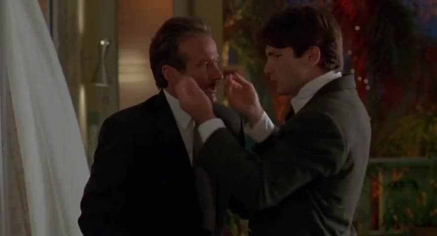 - You're soaking! - I'm sweating like some farm animal.