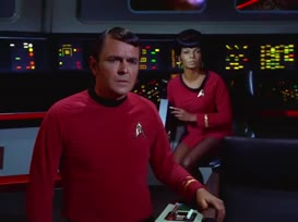 Clip thumbnail for 'Steady as she goes, Mr. Sulu.