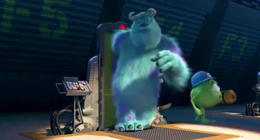 Yarn | I'm feeling good today, Mikey  ~ Monsters, Inc  (2001