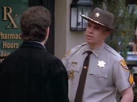 - You're under arrest. - Under arrest? What for?