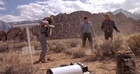 Damn prairie dog burrow.