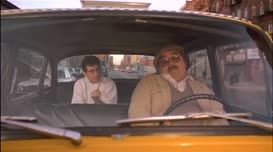 I said I had her in the cab.