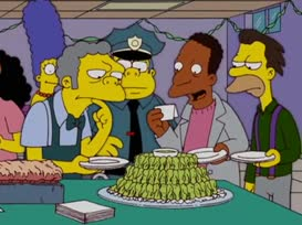 Marge Simpson's Wasabi Buffalo Wings!