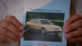 a brand-new 1995 Honda accord in champagne pearl,