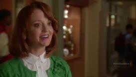 Hi, Kurt. I'm Miss Pillsbury, the guidance counselor.