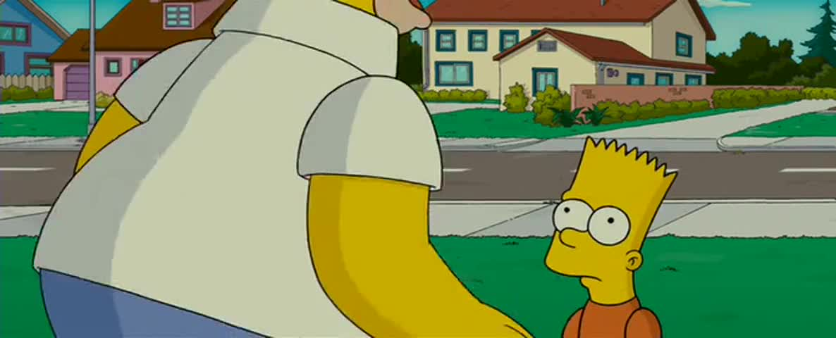 Yarn Oh I See Then I Hereby Declare You Chicken For Life The Simpsons Movie Video Clips By Quotes Clip 7b37a20b 19e8 4f67 B484 2927db1ca451 紗