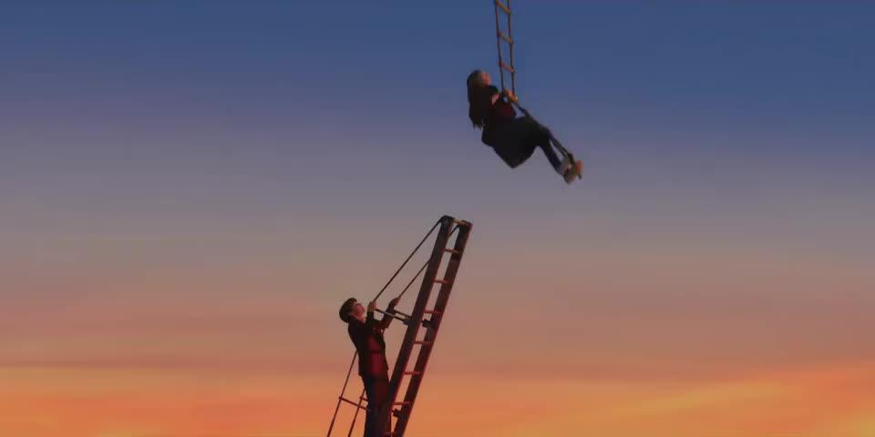 - [Duncan] Isadora! - Hang on!