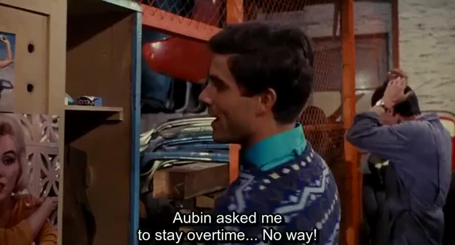 -Aubin, tout à l'heure, m'a demandé de faire une heure de plus.