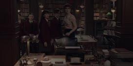 "[imitating Olivia] ""Vice Principal Nero will be here."""