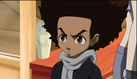 """Quiz for What line is next for """"The Boondocks """"?"""