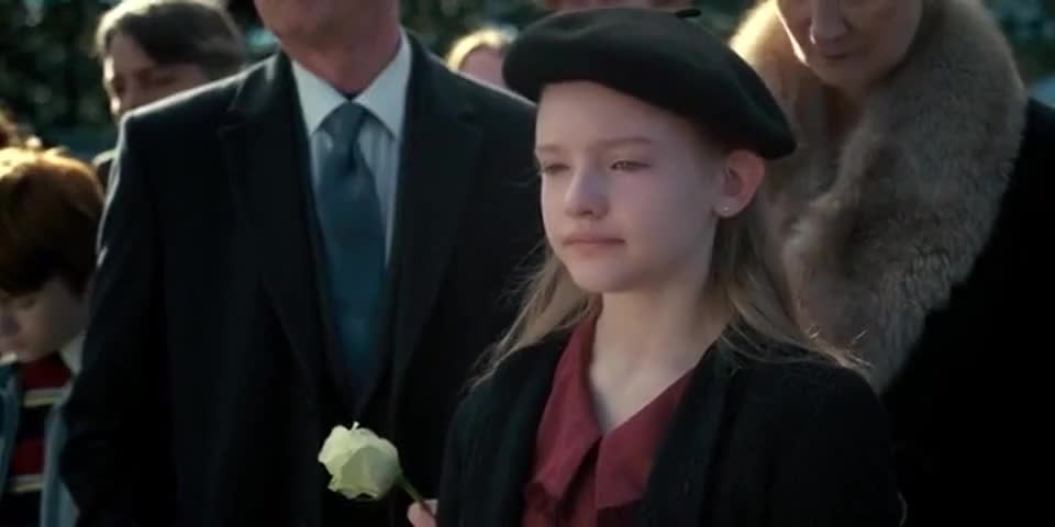 Just wait till we tell Will that Jennifer Hayes was crying at his funeral.