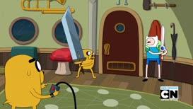 That sword's too unwieldy, man.