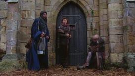 WOMAN: No more beggars!