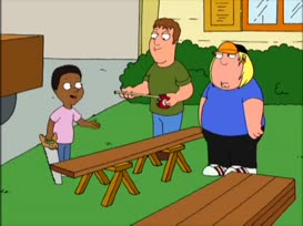 """My daddy always said, """"Cleveland Jr., quit jumping on the bed!"""""""