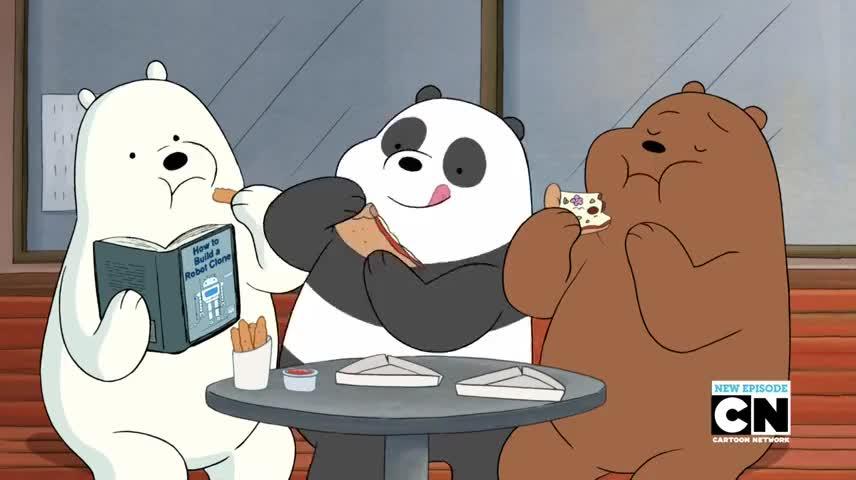[Baby Panda sneeze]