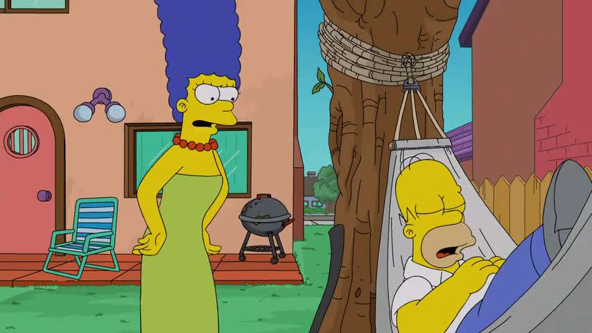 (sighs) Don't worry, Homer, I'll chop the wood.