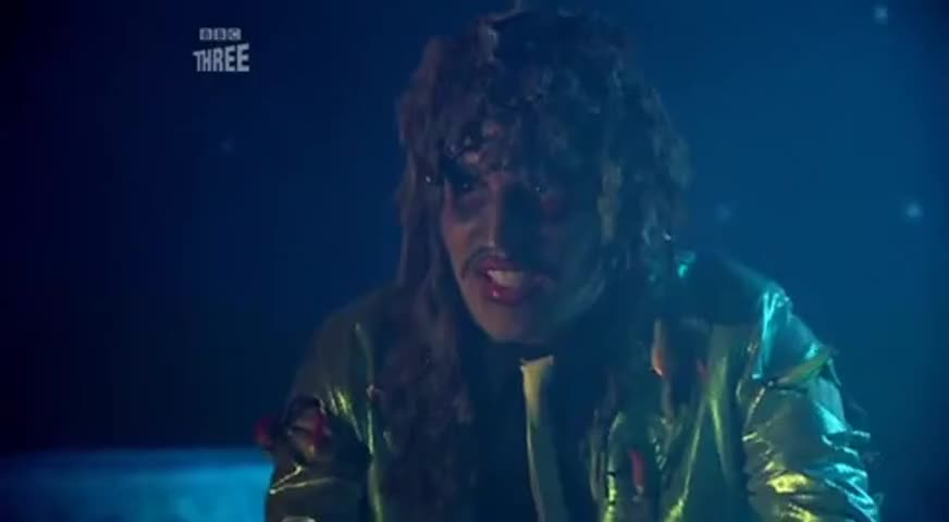 Here comes Old Gregg, he's a scaly man-fish.