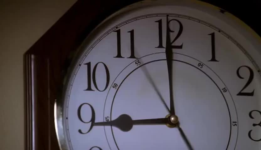[clock ticking]