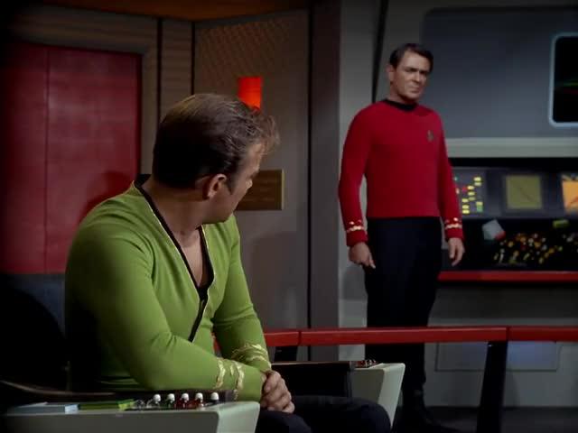 - Make it work, Scotty. - Aye, sir.